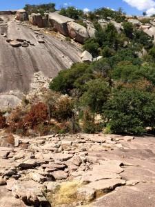 Side of Enchanted Rock