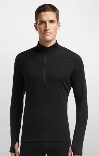 icebreaker zone long sleeve half zip