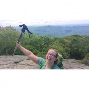 Much excitement after summiting Blood Mountain that day