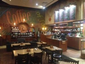 The inside of Dog Lane Café.