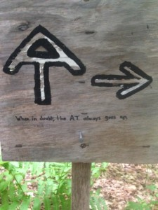 Trailside humor