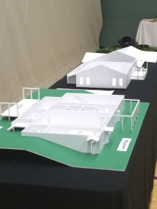 a 3D model of the Mountain Lodge.
