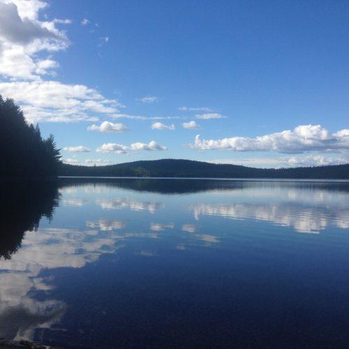 100-Mile Wilderness Lake