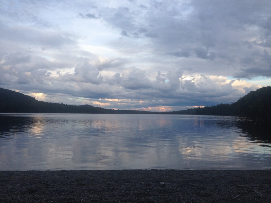 Maine Lake Sandy Beech