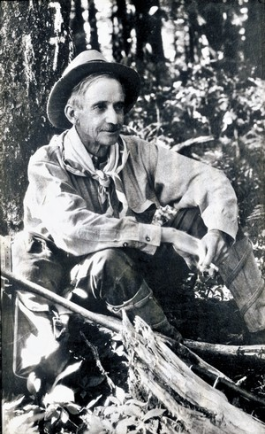 Librarian and travel writer Horace Kephart.