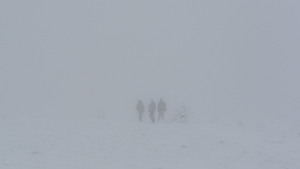 Whiteout conditions on Moosilauke
