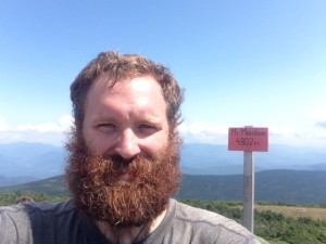Me, atop Mt. Moosilauke.