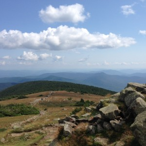 Summit of Mt. Moosilauke.