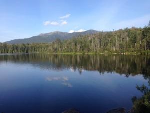 Lonesome Lake, near Lonesome Lake Hut.
