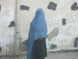 Afghan Woman in Kabul