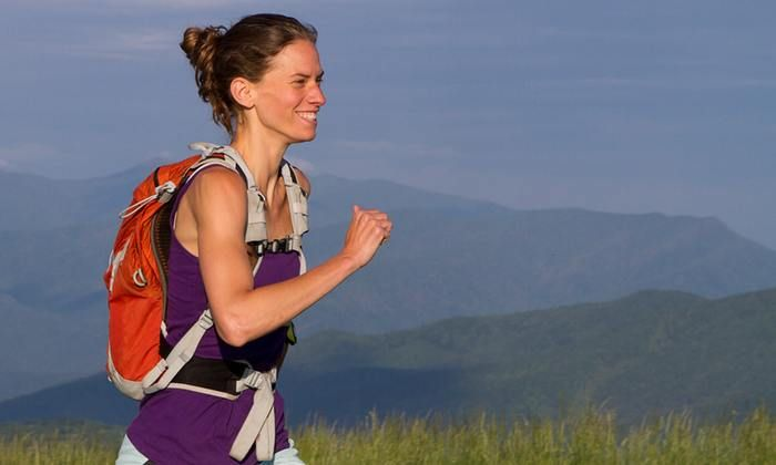 Jennifer Pharr Davis holds several hiking records, has written two books about her Appalachian Trail hikes, and is the founder of the Blue Ridge Hiking Company.