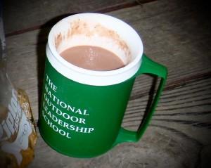 My trusty NOLS mug
