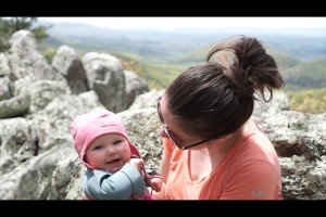 hiking the Appalachian Trail with a baby