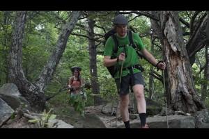 running on the appalachian trail