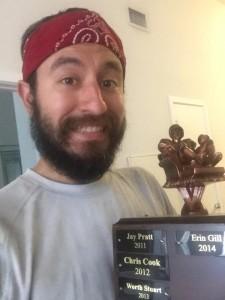 beard trophy