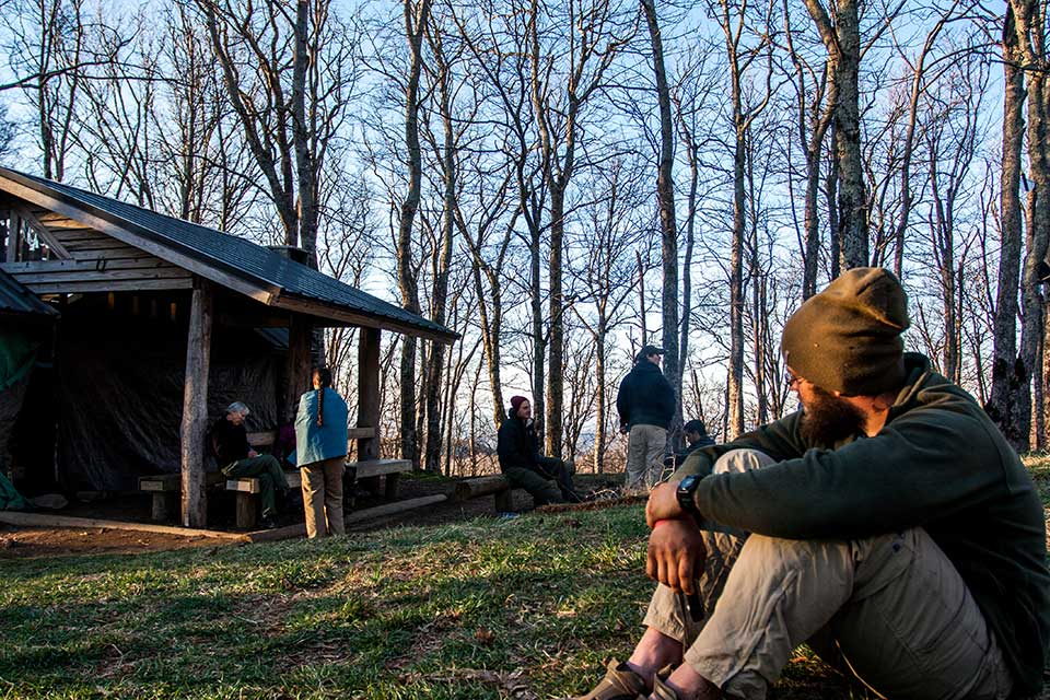 Camping and Shelters on the Appalachian Trail