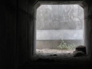 Concrete bunker in Afghanistan