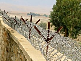 Razor Wire in Afghanistan