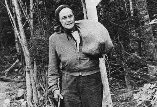 Emma Gatewood, known better by her trail name Grandma Gatewood, is the first woman to hike the Appalachian Trail solo.