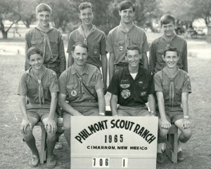 Philmont Scout Ranch July, 1965