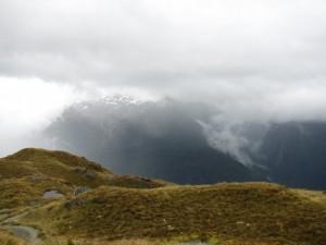 Above treeline, the realm of the Kea.