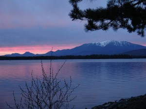 Sunset on Katahdin