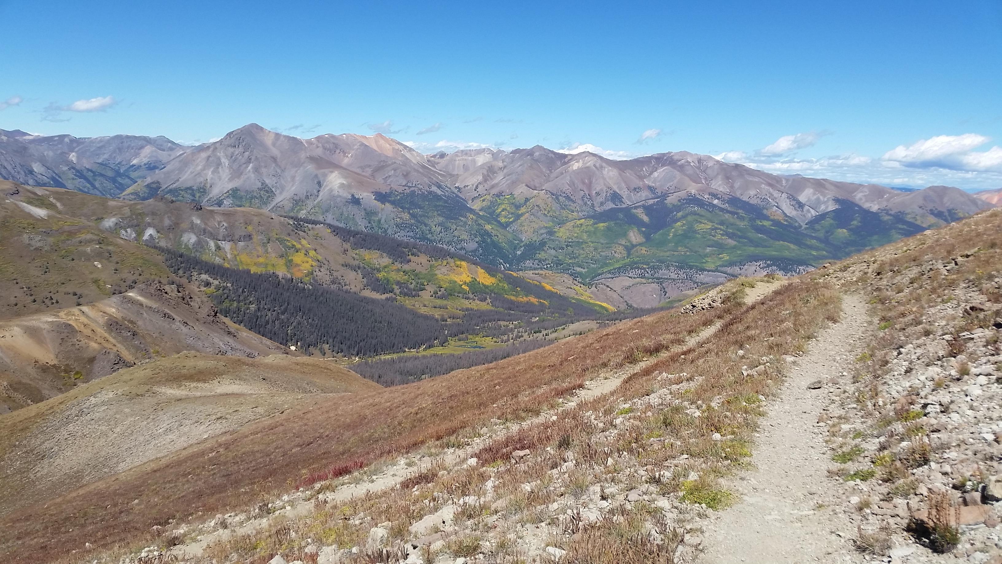 Fall along the Colorado Trail