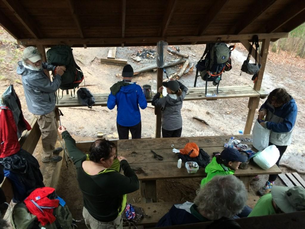 Crowded shelter in GA Jim Fetig