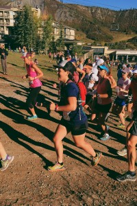 Running the Goldenleaf 1/2 Marathon in Aspen, CO