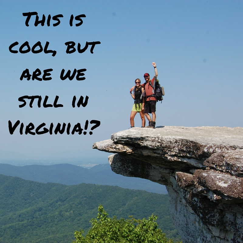 This is cool, but are we still in Virginia!-