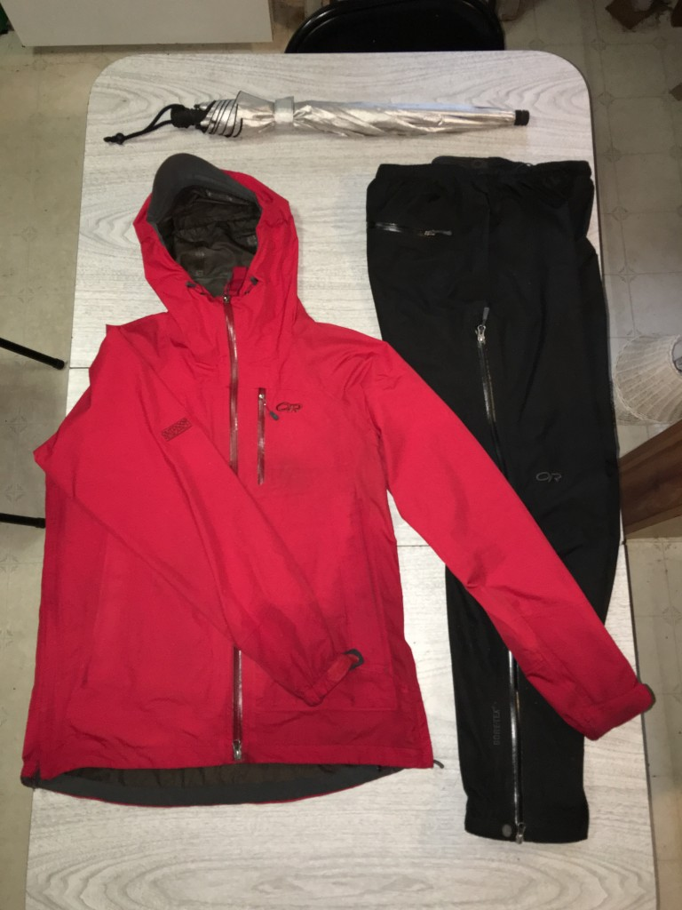 hiking viking rain gear