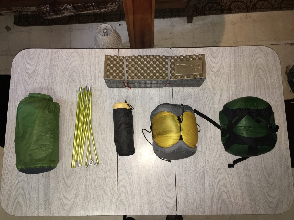 hiking viking sleep system