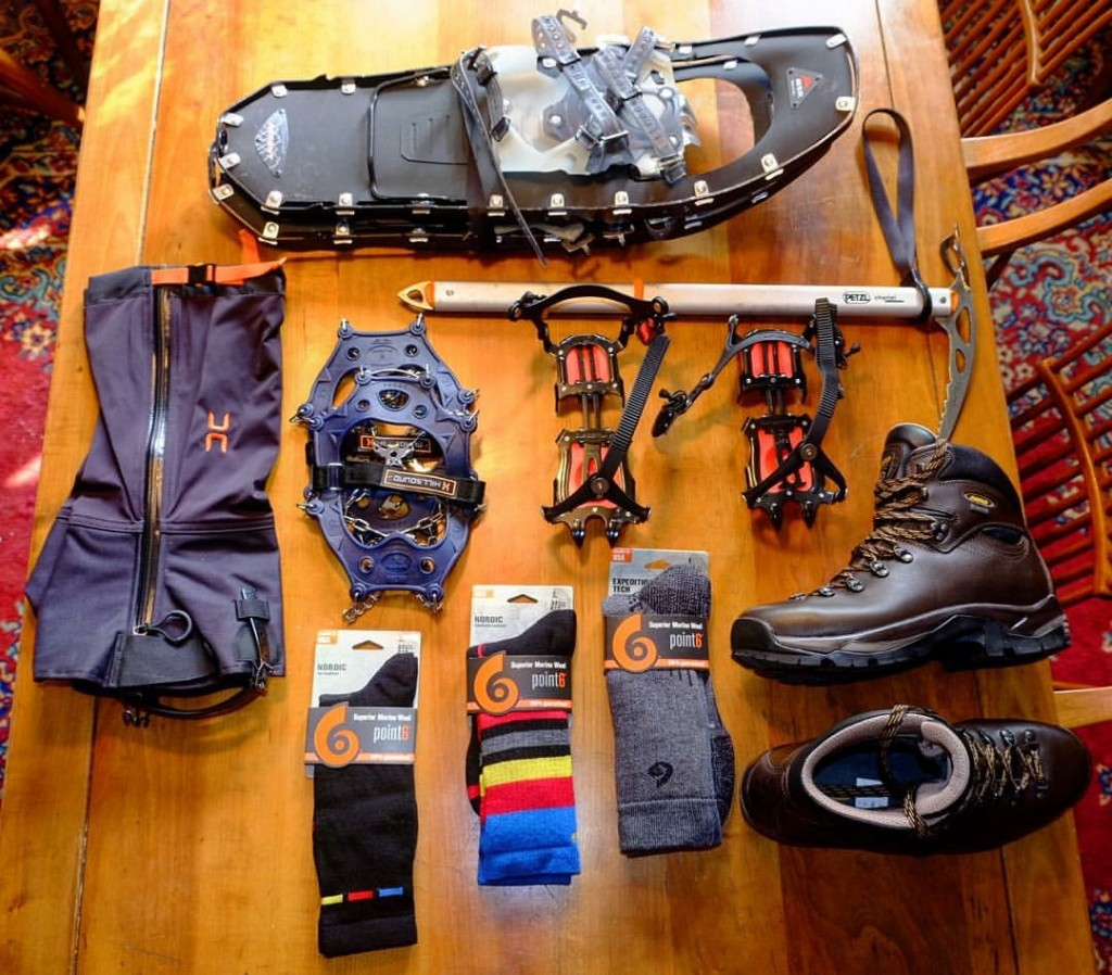 hiking viking snow gear