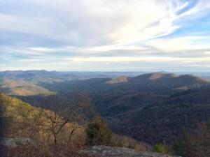Summit on Preacher's Rock