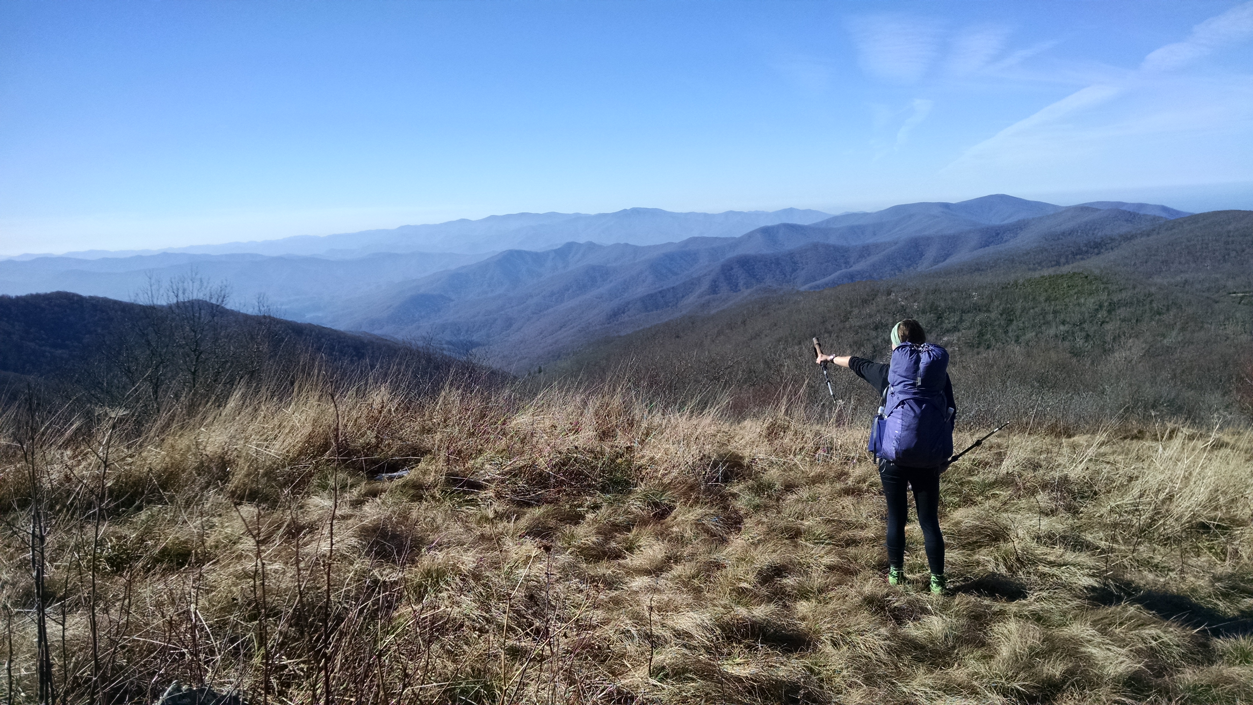 Great Views of the GoLite Jam 50L and Tennessee on the Appalachian Trail