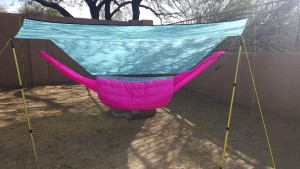 *photo of my hammock setup taken by Rick of Cave Creek Hammock & Outdoor Gear