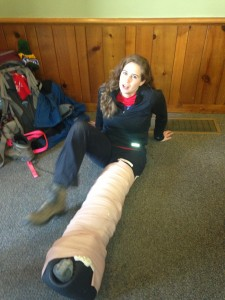 I'm such a klutz! I broke my femur, too.