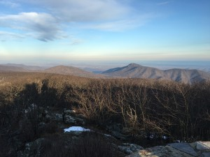 Old Rag from Hawksbill Overlook