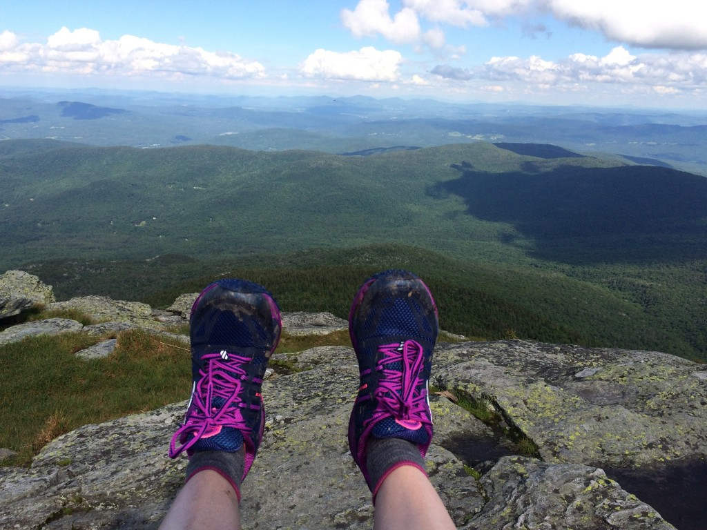 Fresh kicks on Camels Hump.