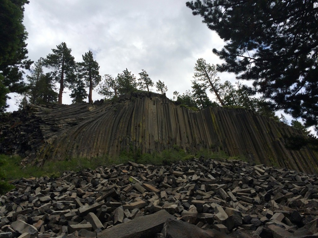 Devils Postpile National Monument is just a hop, skip, and jump from the JMT.