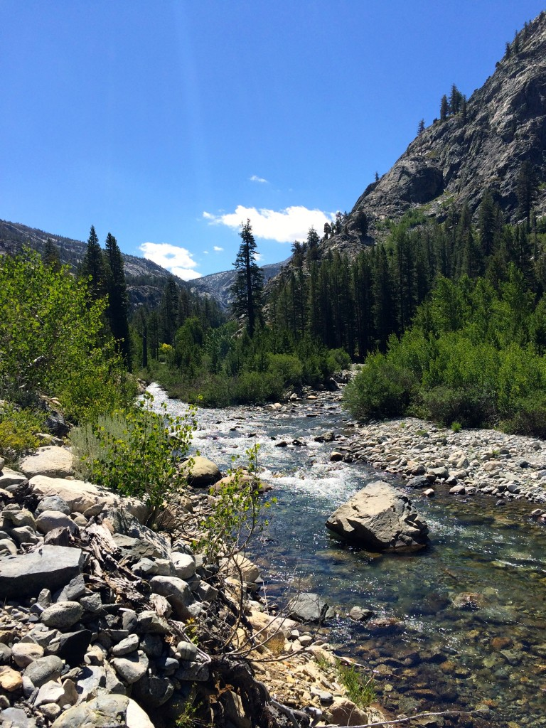 The South Fork of the San Joaquin in Kings Canyon
