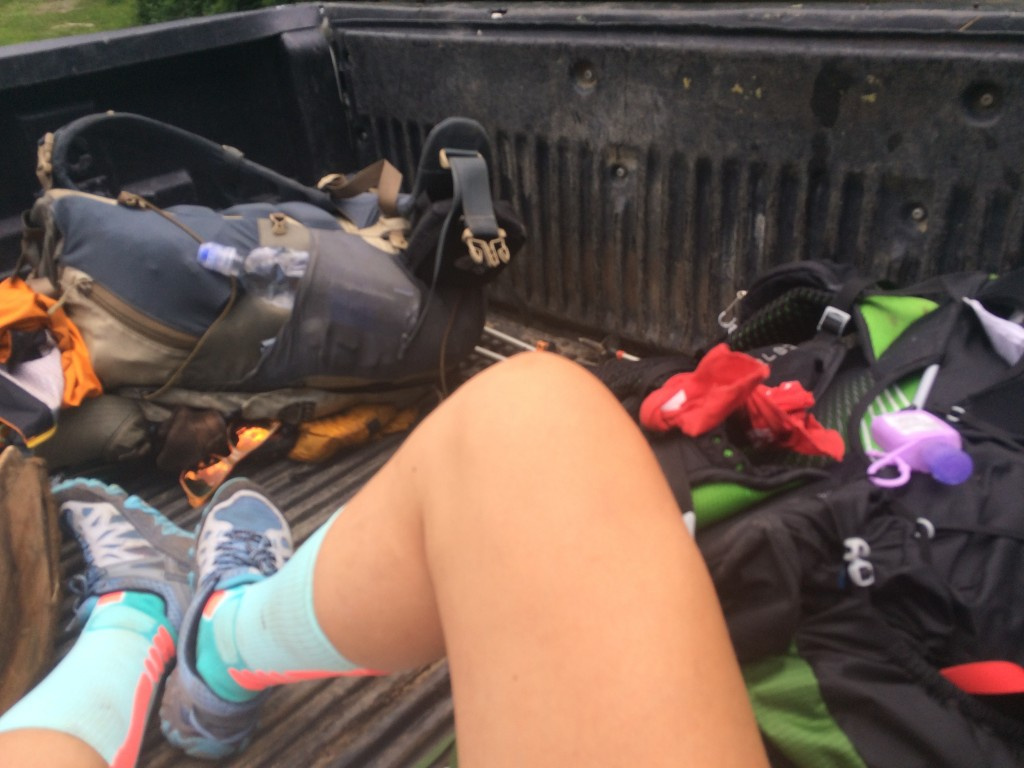 hitchhiking to town appalachian trail
