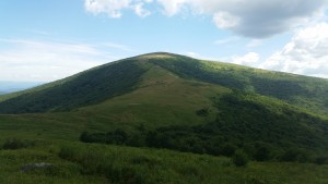 Hump Mountain. Local's refer to it as 'The Roan Mountain Bald'
