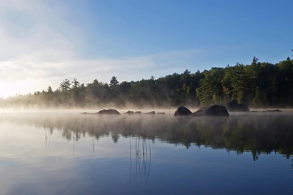Antler campsite, 100 Mile Wilderness