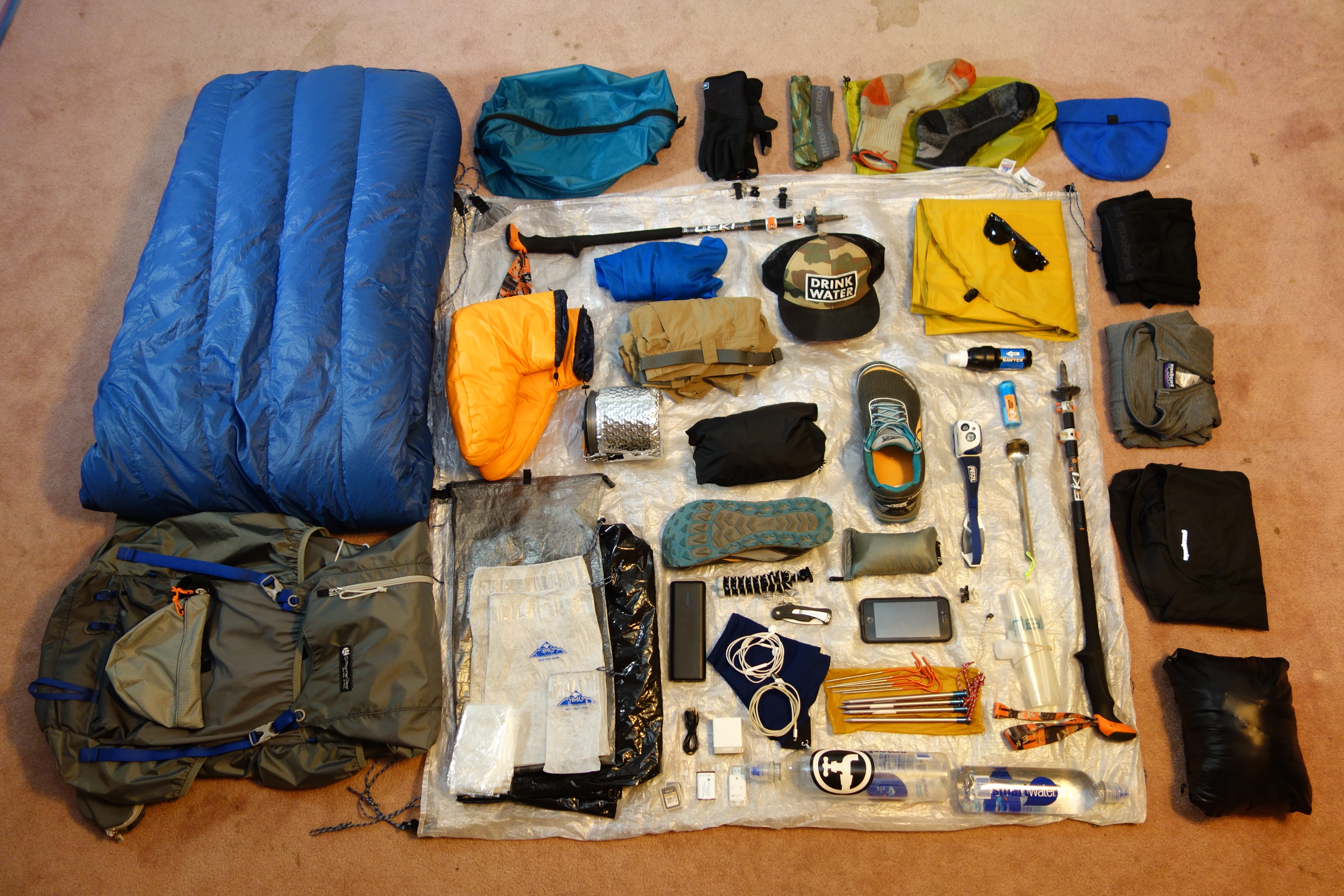 My 12lb Baby: The Gear List - The Trek
