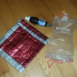 freezer bag cooking sleeve and water filtration