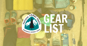 Pacific Crest Trail (PCT) thru-hiker gear list