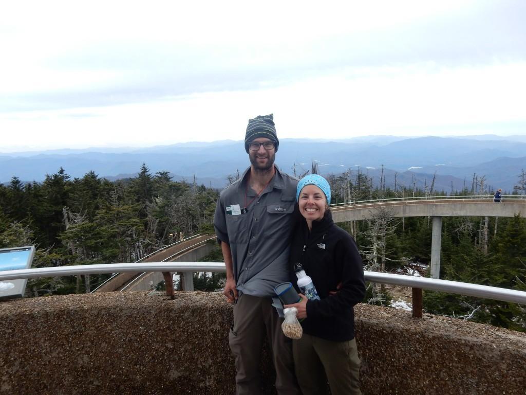 Clingman's Dome, 6,667 ft, mile 199.5