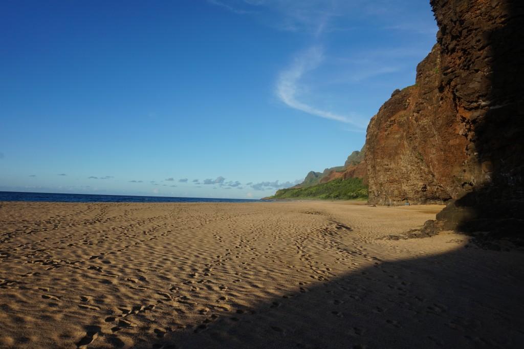 Kalalau Beach.