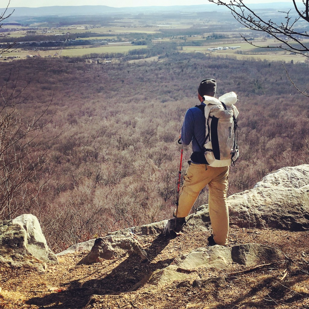 On the trail with the Katabatic Gear Helios 55 backpack